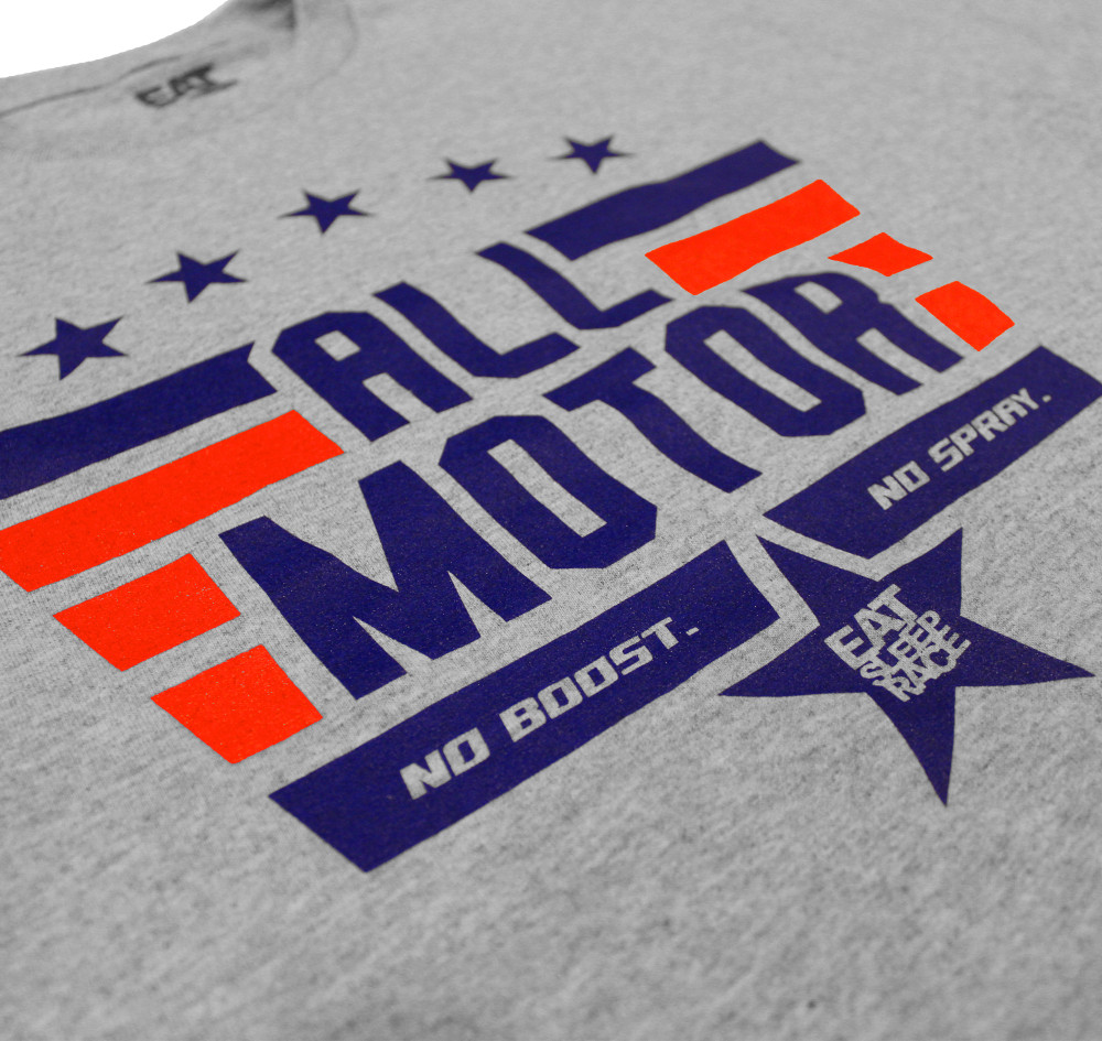 All Motor 10 T-Shirt | Grey