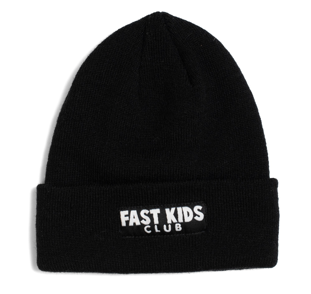 Fast Kids Club Beanie | Black