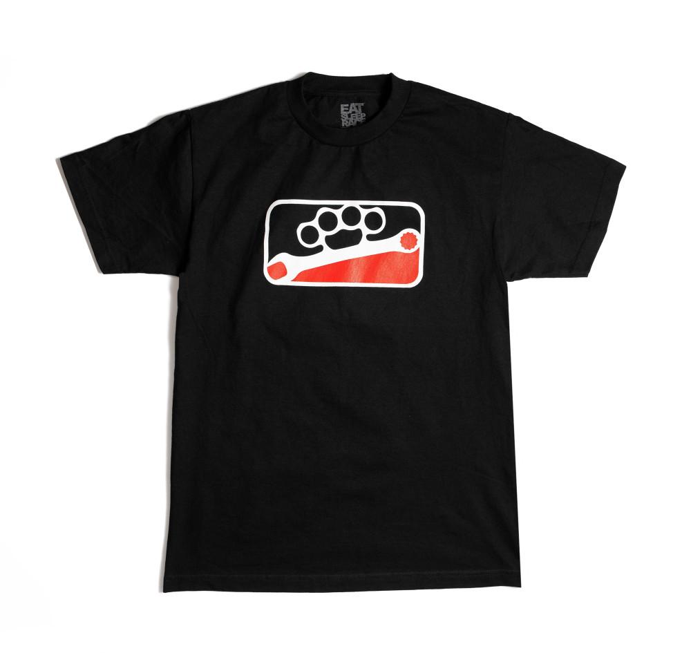 Knuckle League T-Shirt   Black