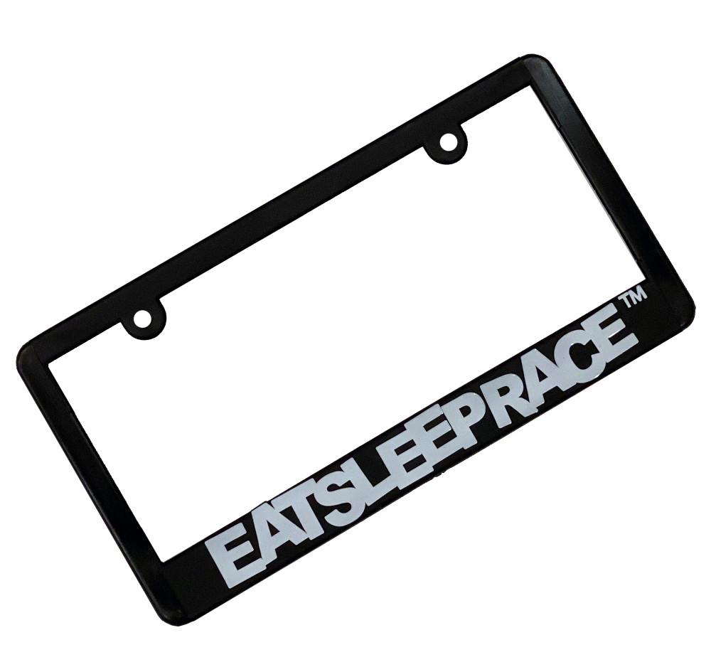 Logo Plate Frame | White