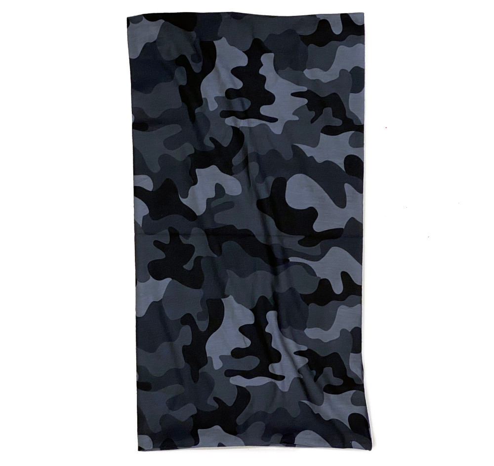 Neck Gaiter | Black Camo