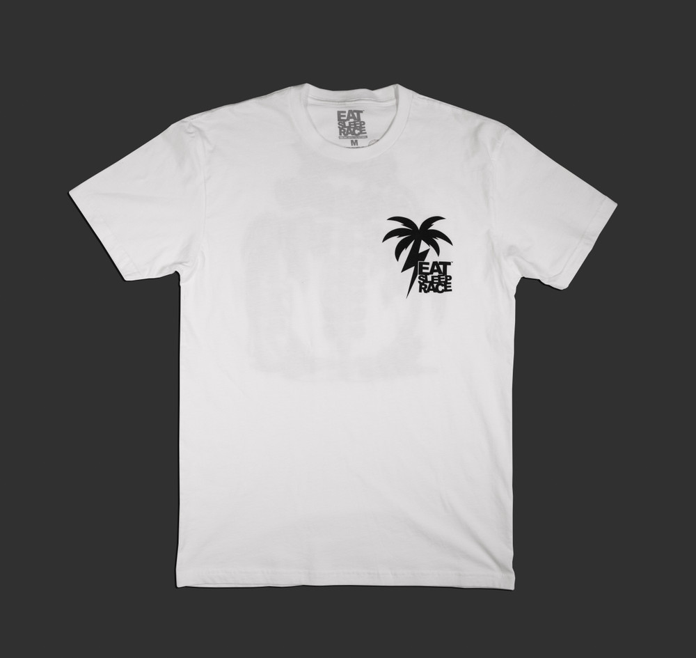 Racer's Paradise Lightweight T-Shirt | White