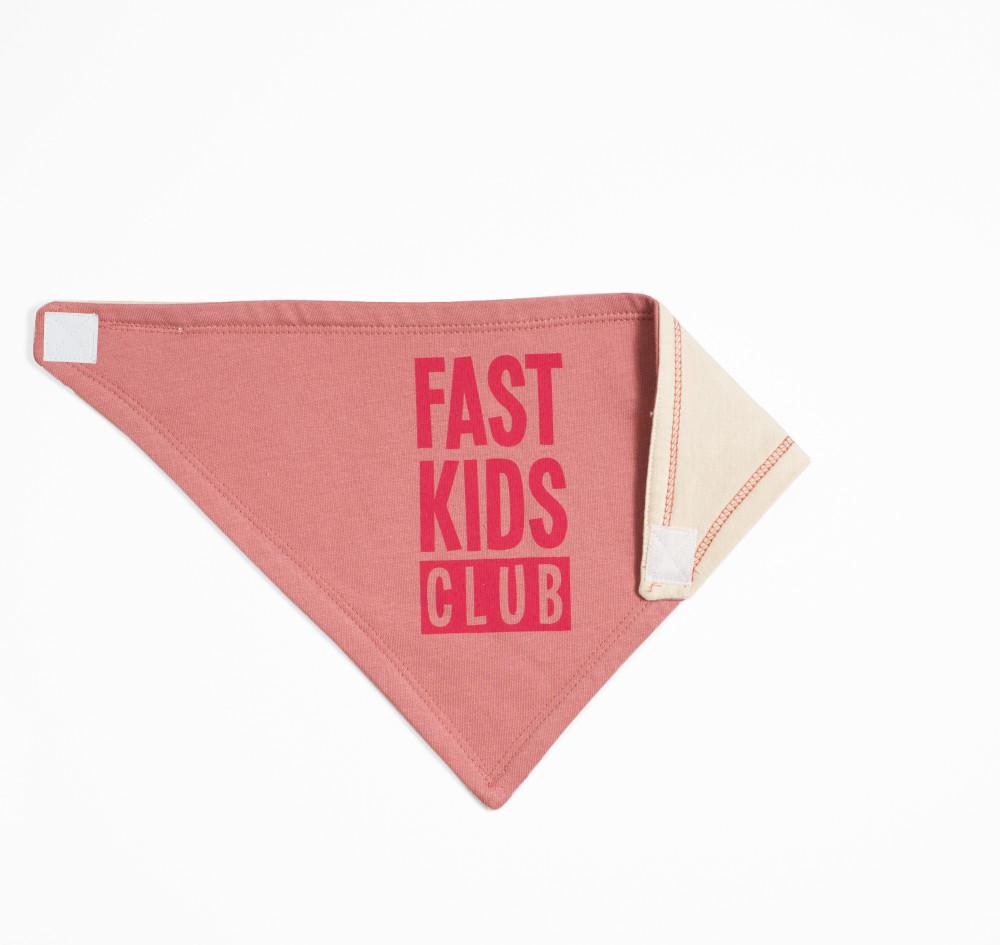 Infant Fast Kids Club Bandana Bib | Pink