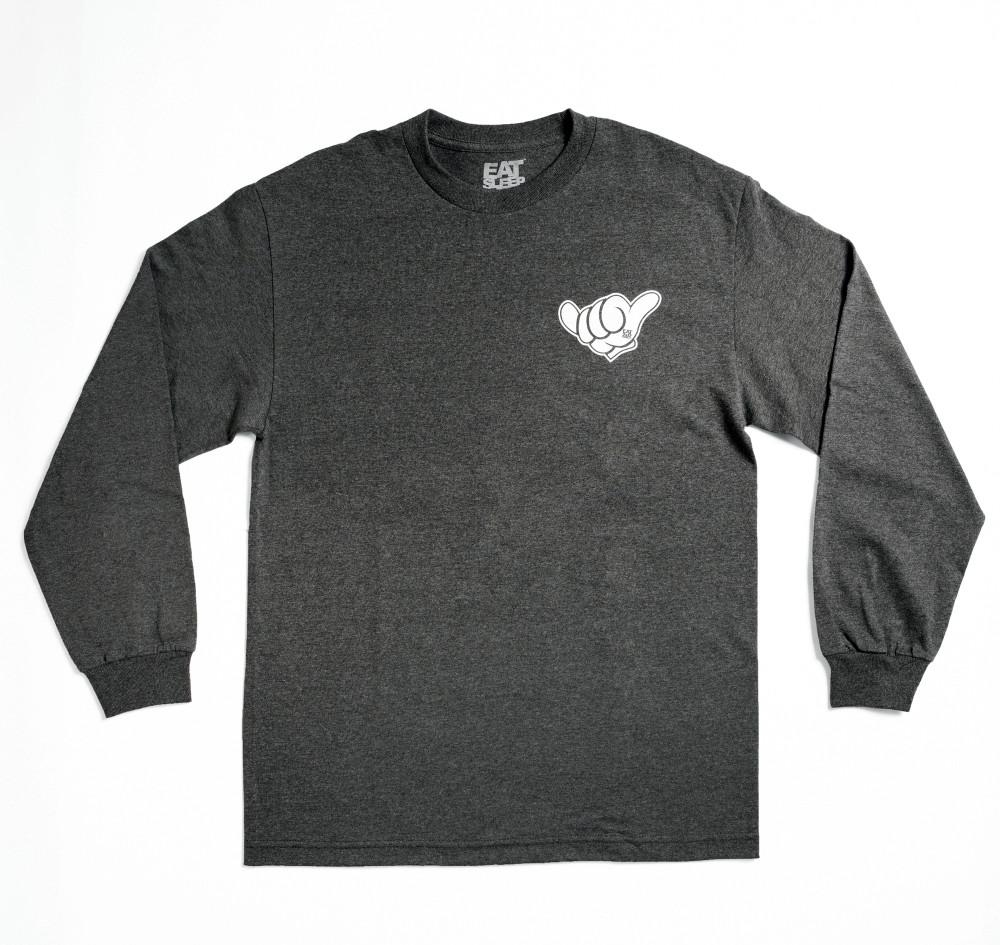 Shaka Long Sleeve Shirt | Grey