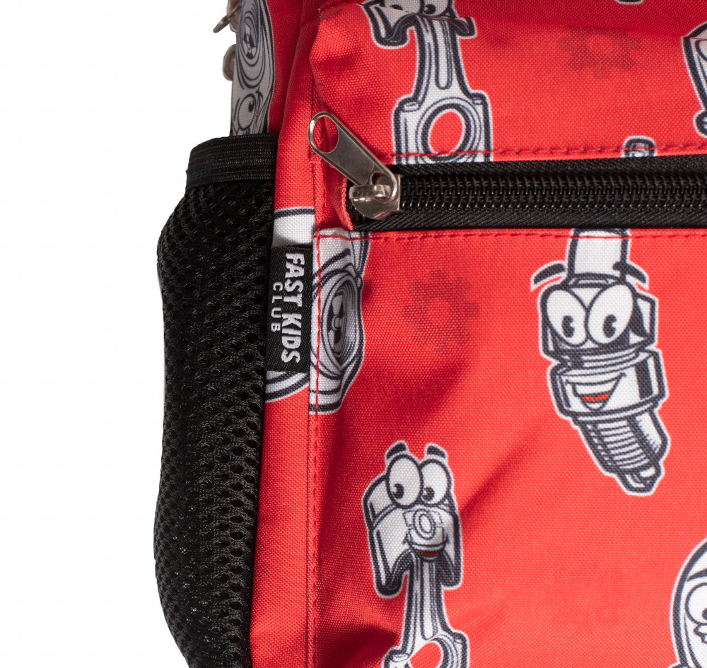 Fast Kids Club Toddler Backpack | Red