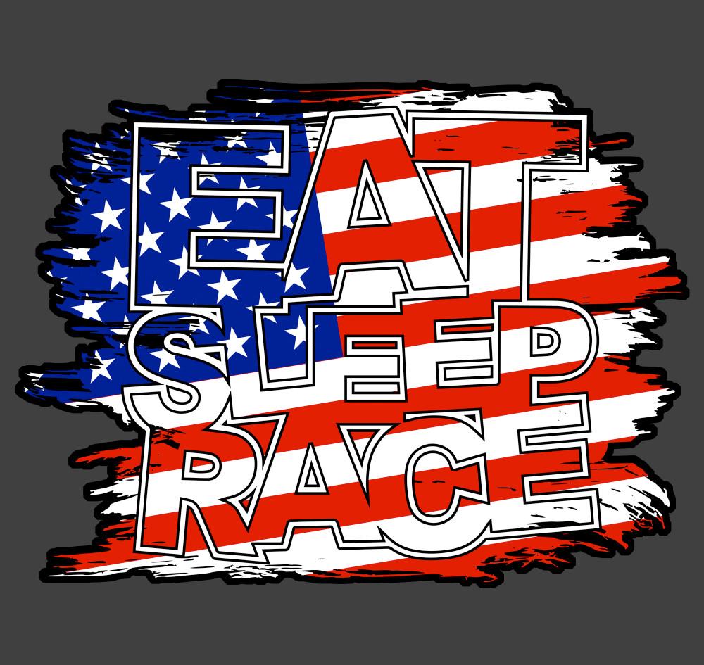 Flag Vinyl Decal | USA