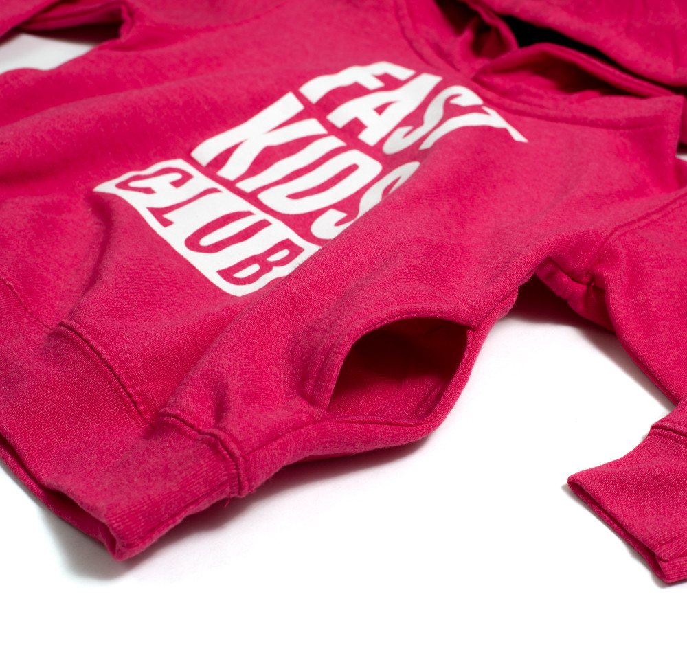 Toddler Fast Kids Club Pull Over Hoodie | Pink