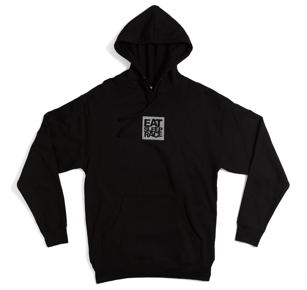 Pull Over Shark Logo Hoodie | Black
