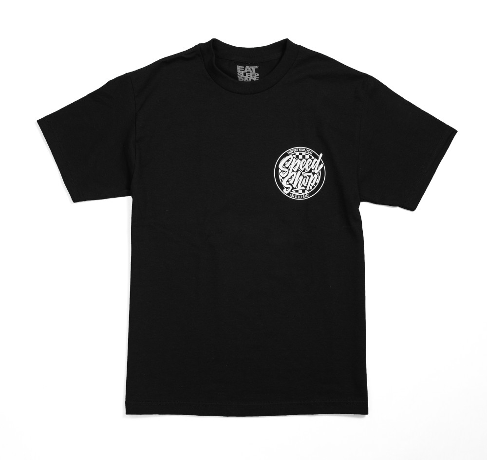 Support Local Shops 3 T-Shirt | Black