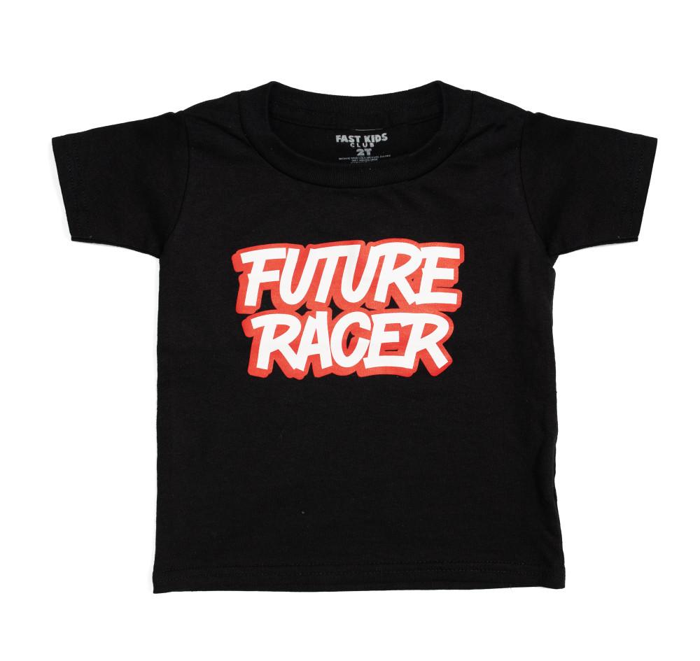 Fast Kids Club Future Racer 4 T-Shirt | Black