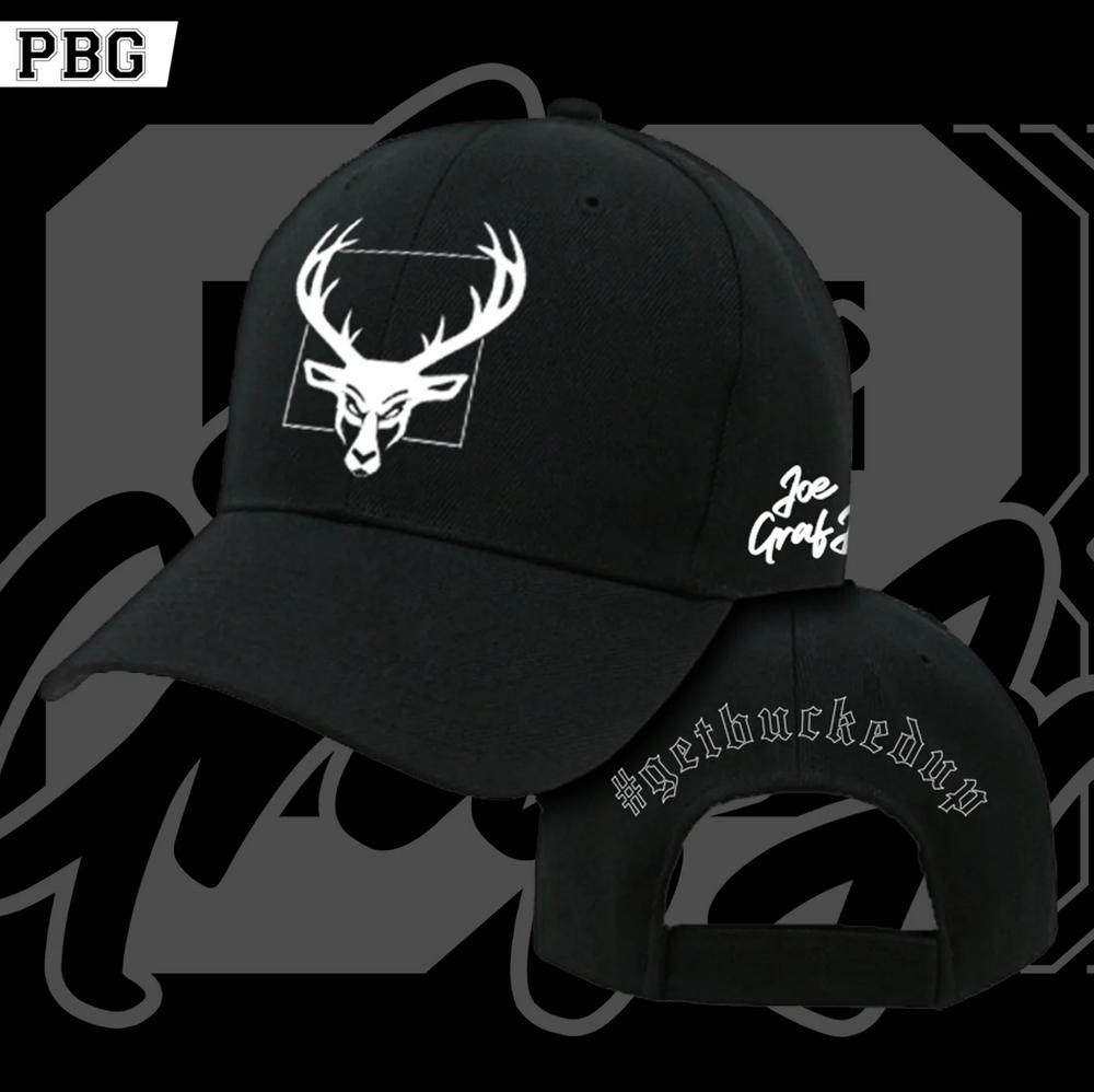 Joe Graf Jr Bucked Up Snapback Hat | Black