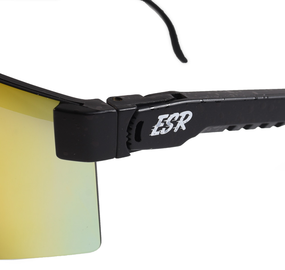 ESR Speedster Sunglasses   Matte Black/Red Iridium   Polarized