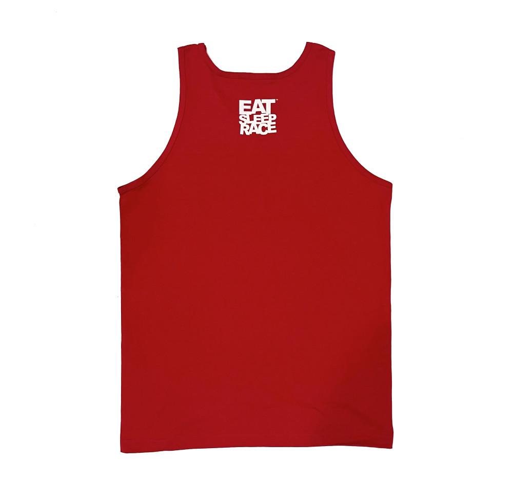 Drag Tree 2 Tank Top | Red