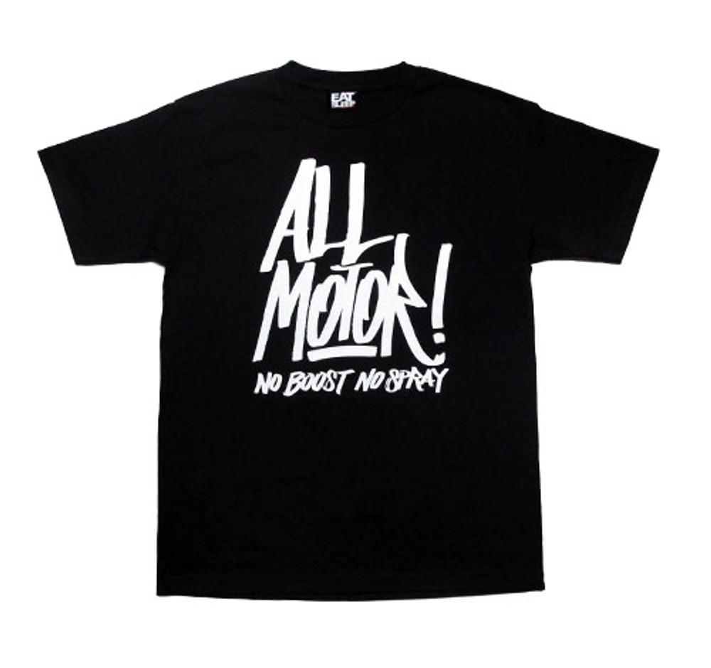 All Motor 3 T-Shirt  | Black