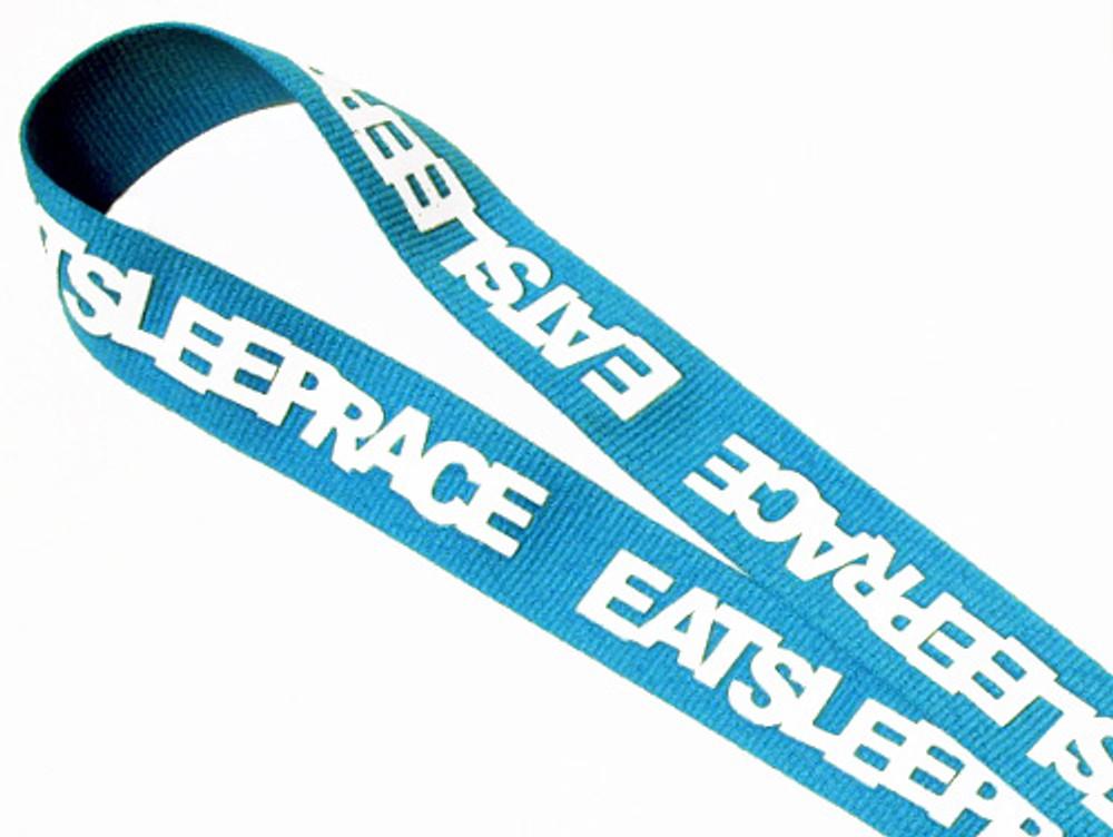 Lanyard Logo | Laser Blue