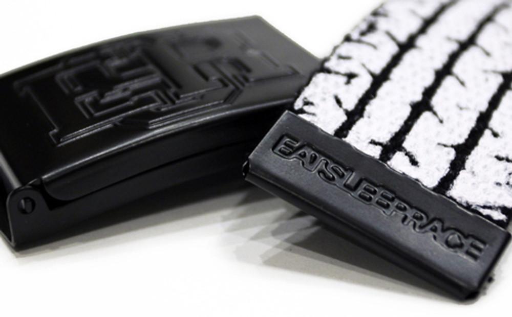 Tire Tread Belt | Black/White