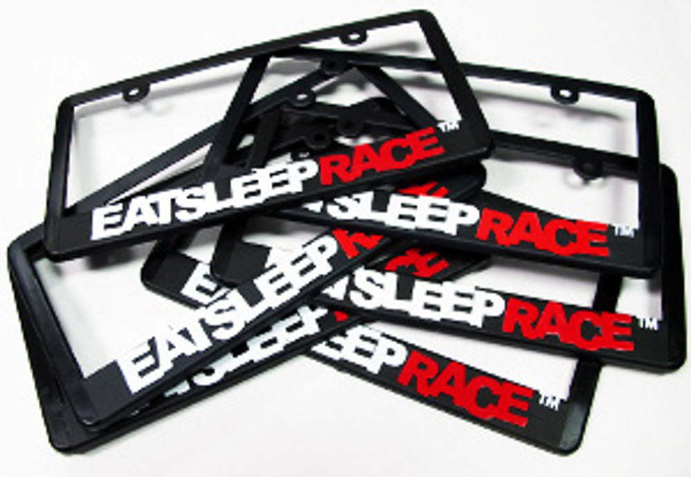 Logo Plate Frame | White/Red