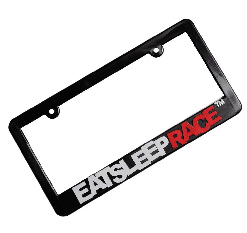 Logo Plate Frame | White/Red
