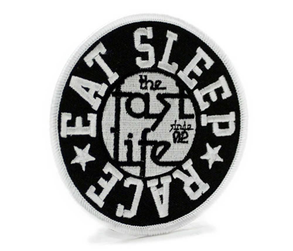 Embroidered Iron On Patch | Circle Fast Life