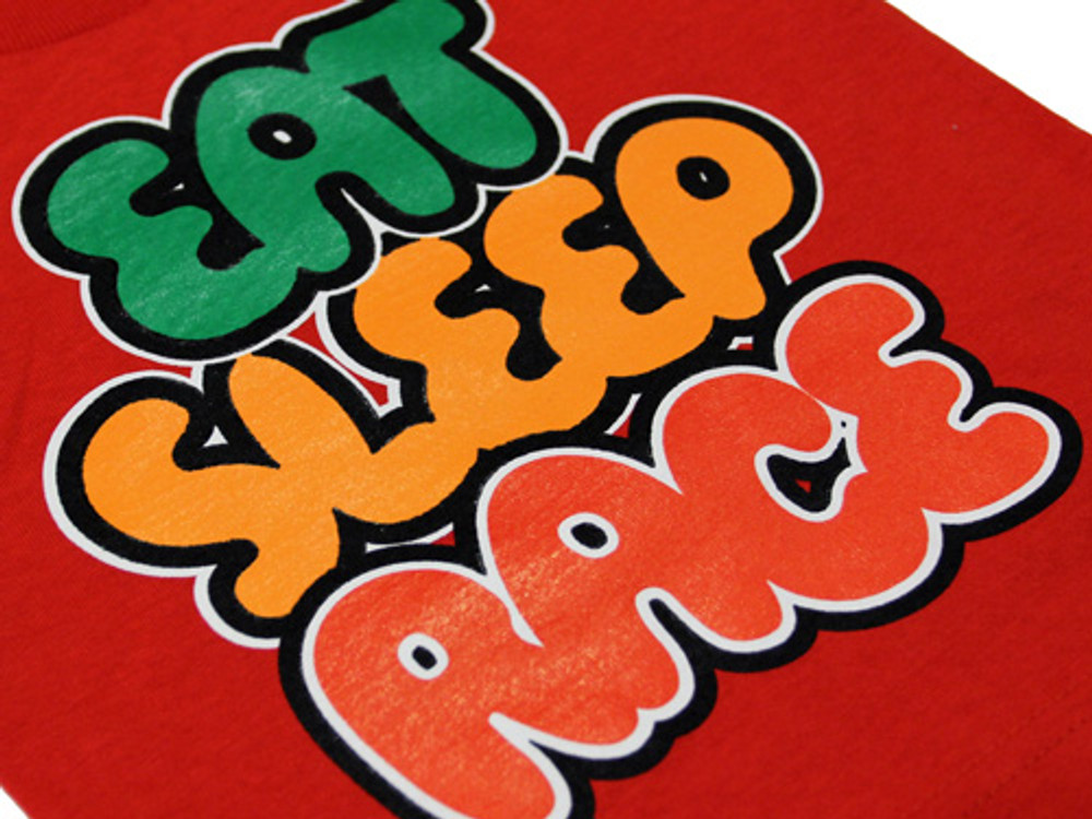 Kids Gummy Bubble T-Shirt | Red