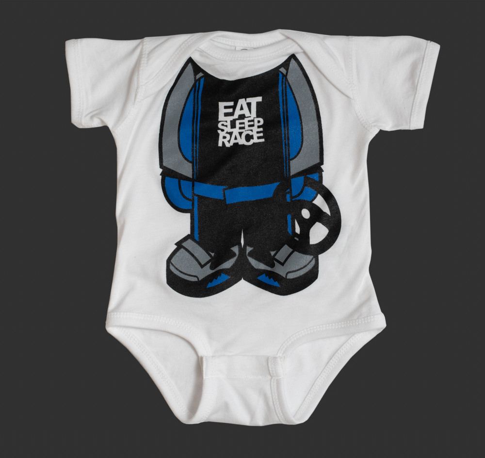 Infant One Piece Racer | Blue