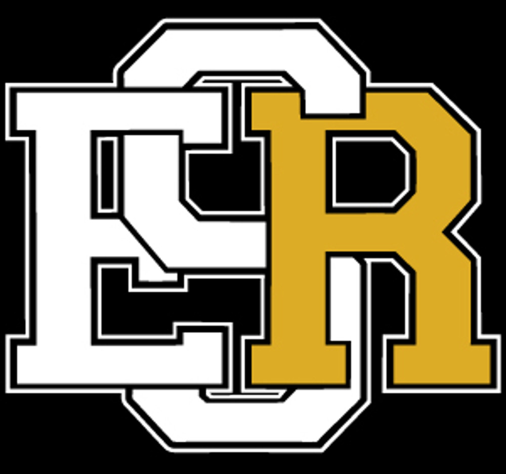 Varsity Vinyl Decal | White/Gold
