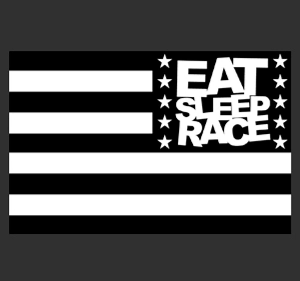 ESR Horizontal Flag Sticker