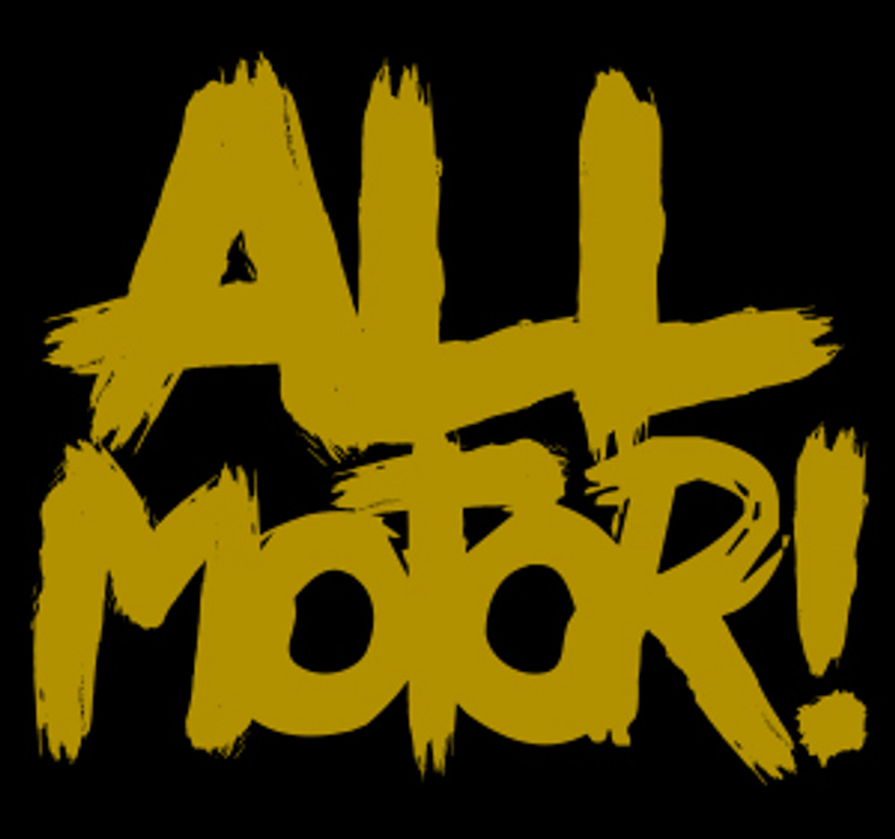 All Motor Vinyl Decal | Gold