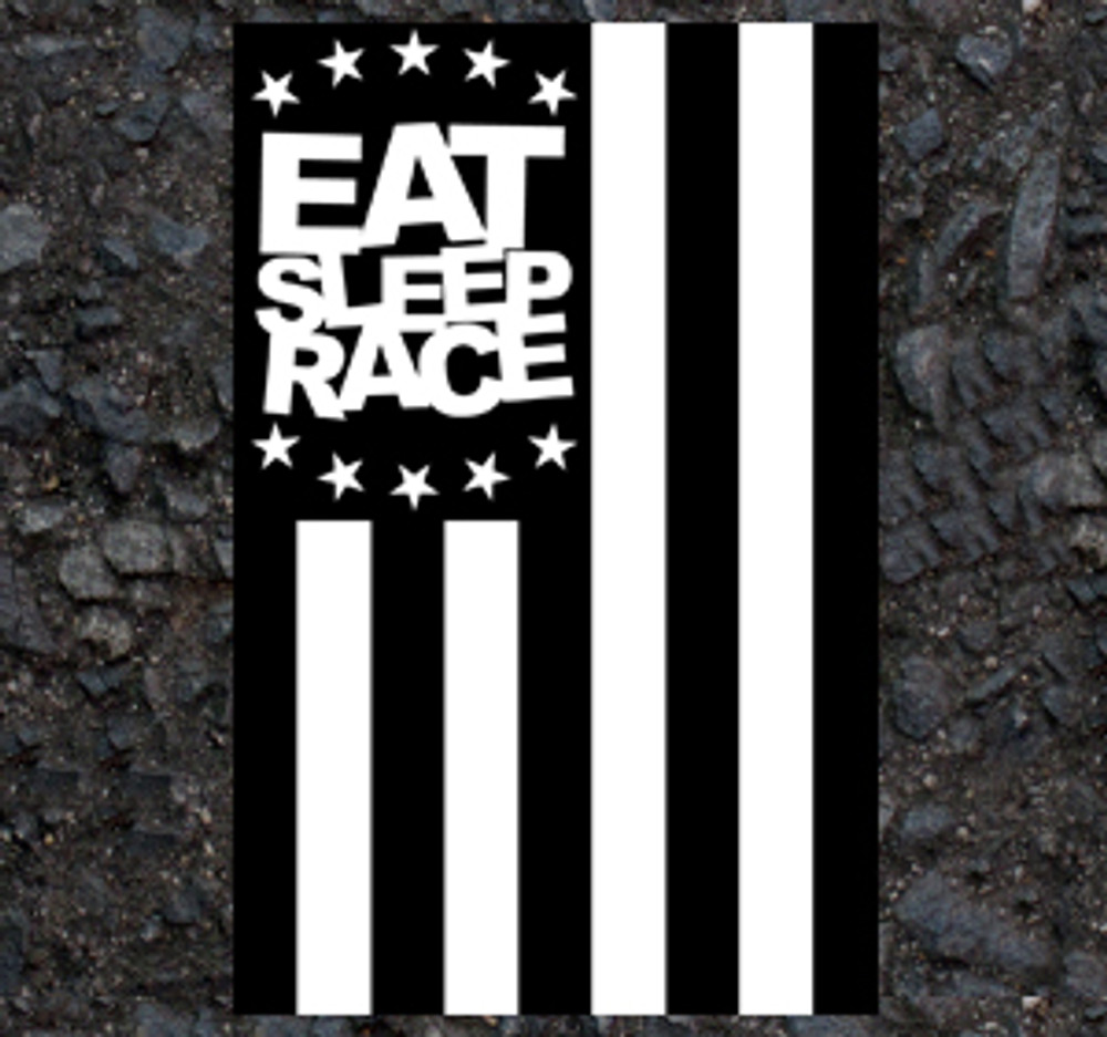 ESR Vertical Flag Sticker