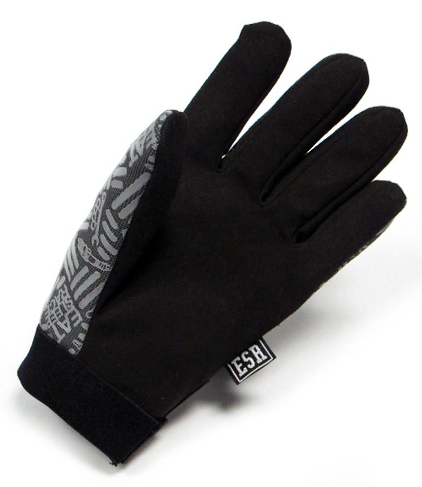 Mechanics Gloves Pattern   Grey/Black