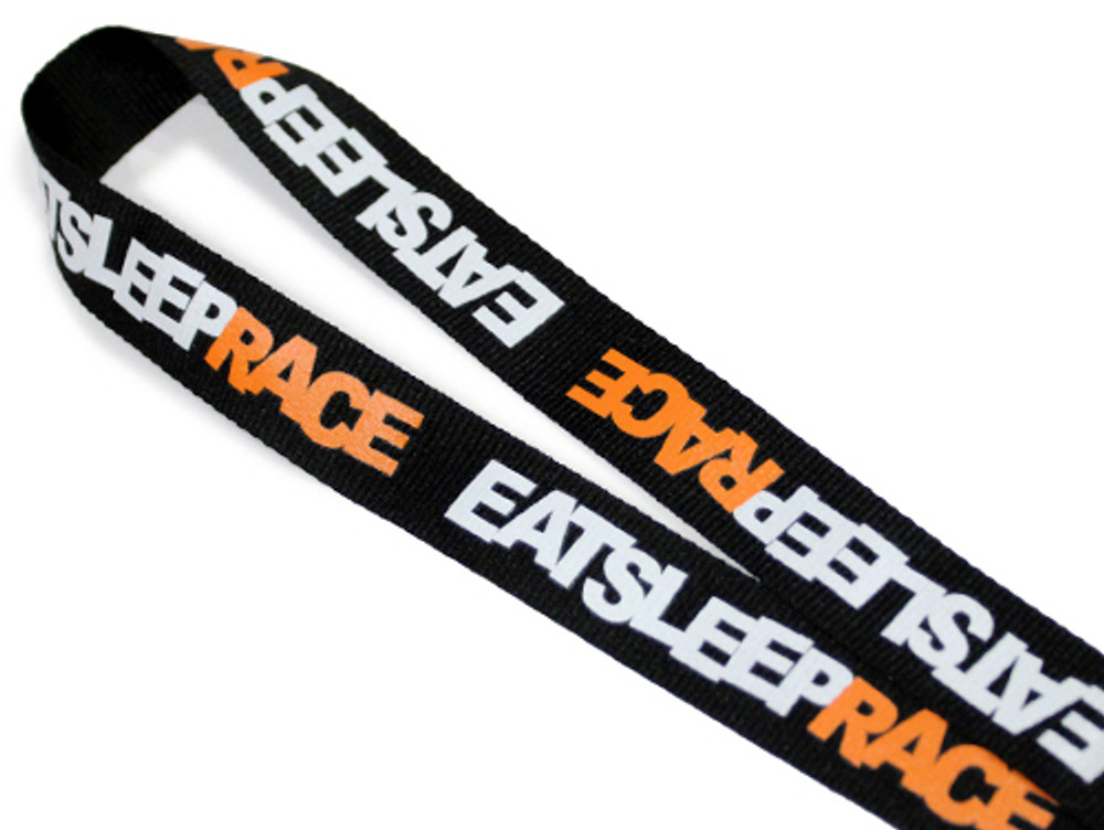 Lanyard Logo | Black/Orange