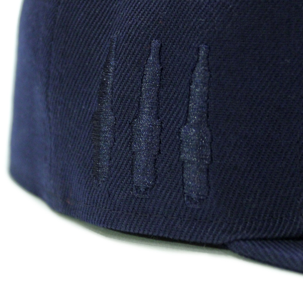 Logo Team Fitted Hat | Navy (FLAG)