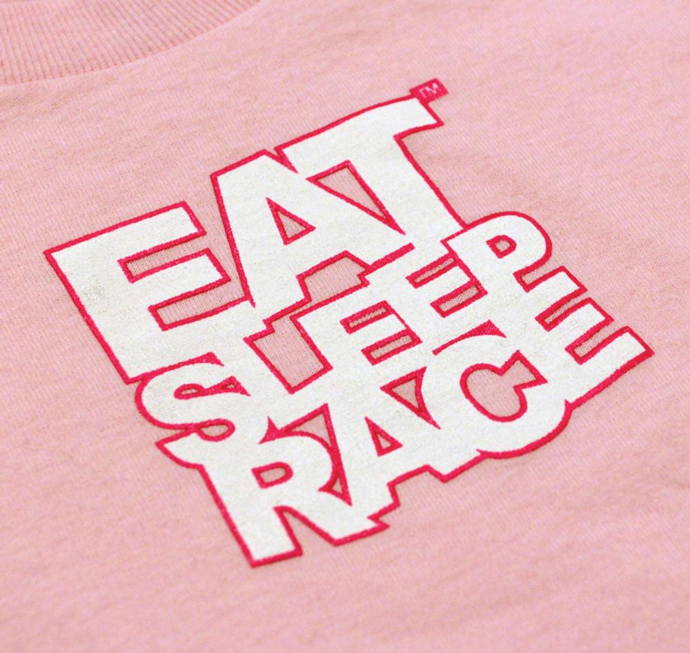 Kids Logo T-Shirt   Pink/White