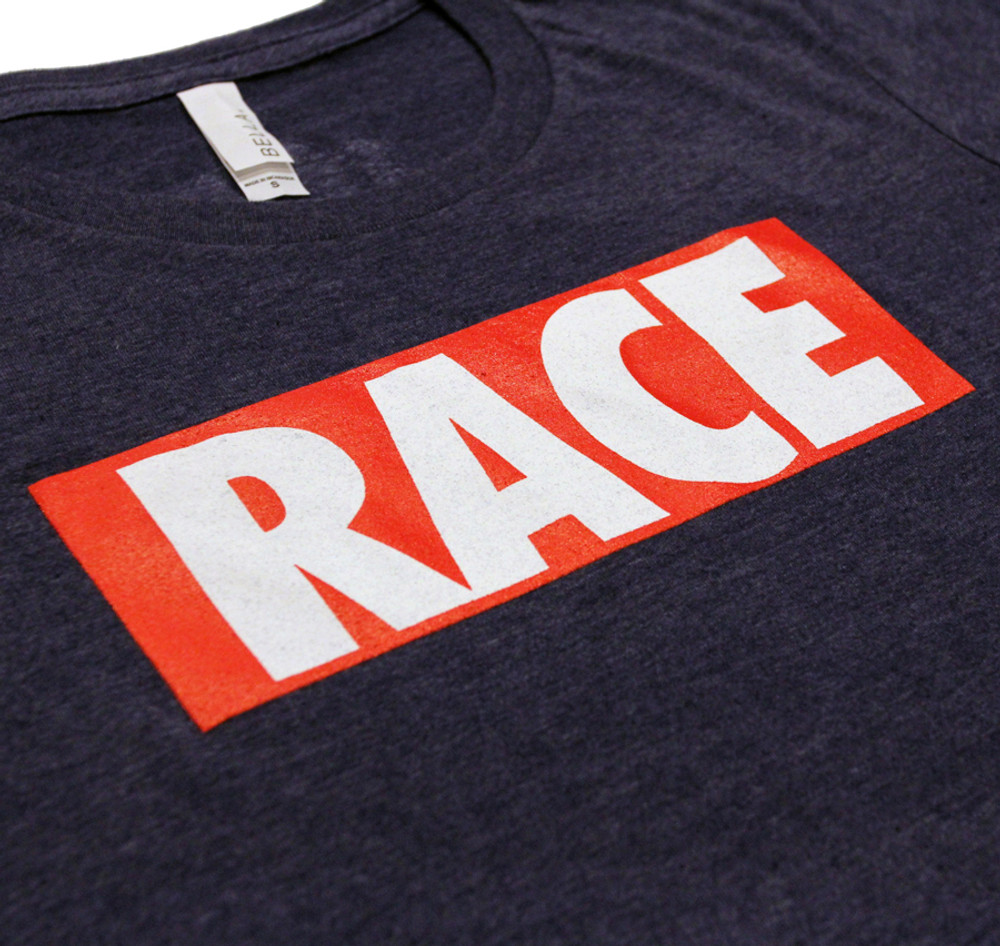 Ladies RACE Shirt | Navy/Red