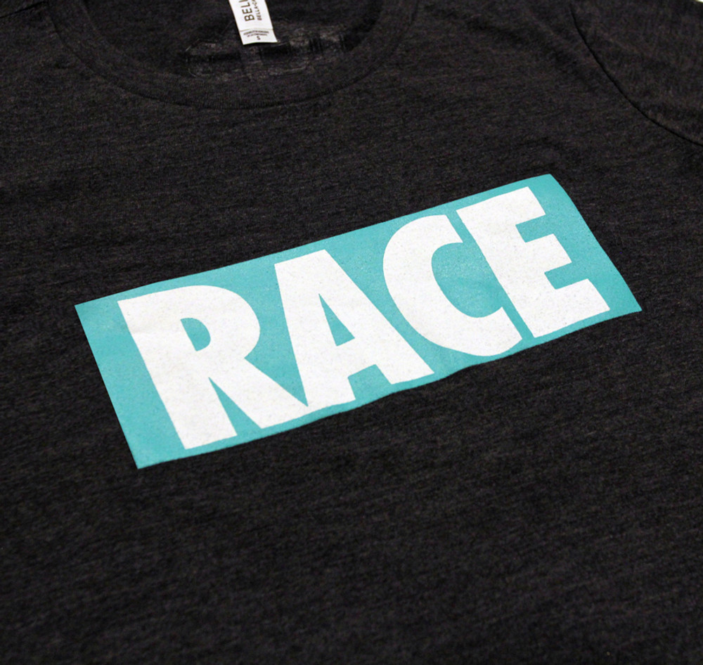 Ladies RACE Shirt | Grey/Teal