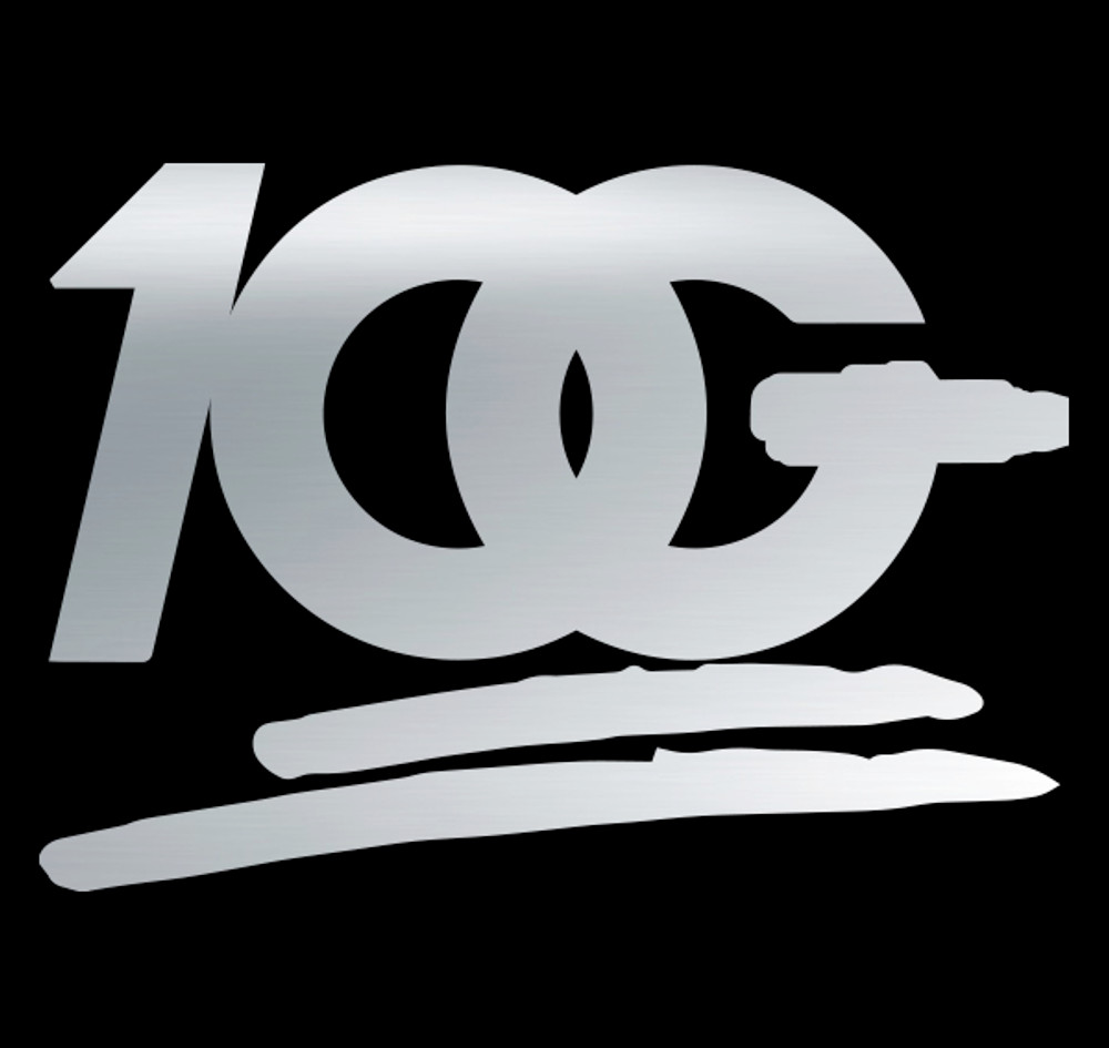 OG 100 Decal | Silver