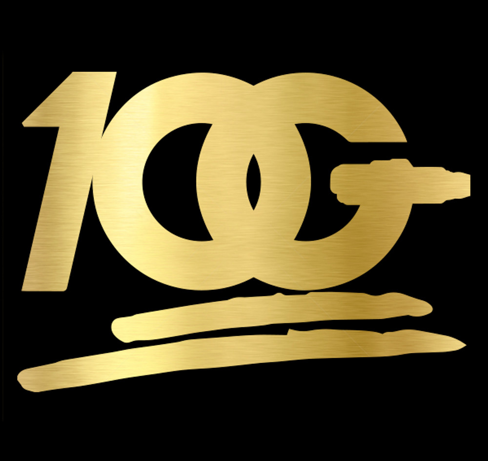 OG 100 Decal | Gold