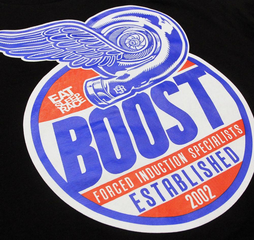 Boost Cap T-Shirt | Black