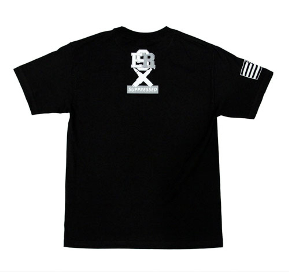 Suppressed Ammo Fuel T-Shirt   Black