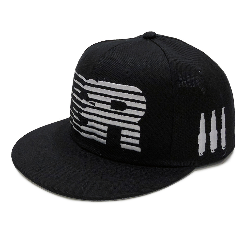 ESR Speedlines Snapback Hat | Black