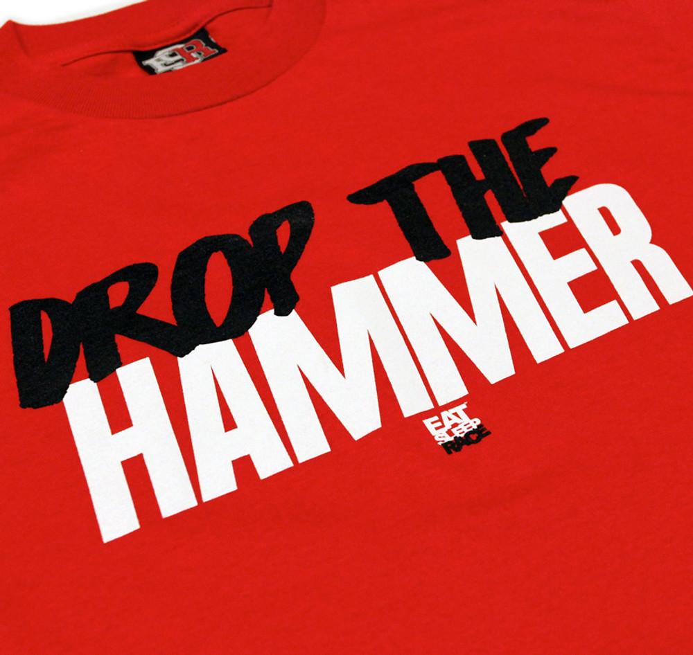 Drop The Hammer T-Shirt | Red