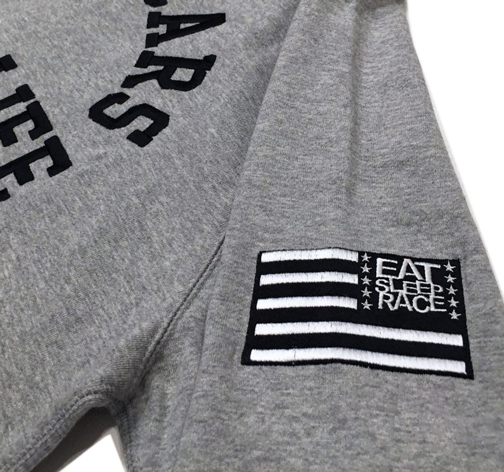 Zip Up Hoodie Fast Cars | Grey