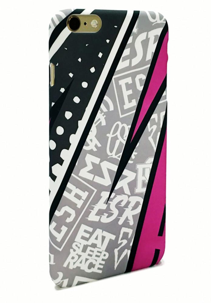 iPhone 6 Case   Pink Rad Pattern