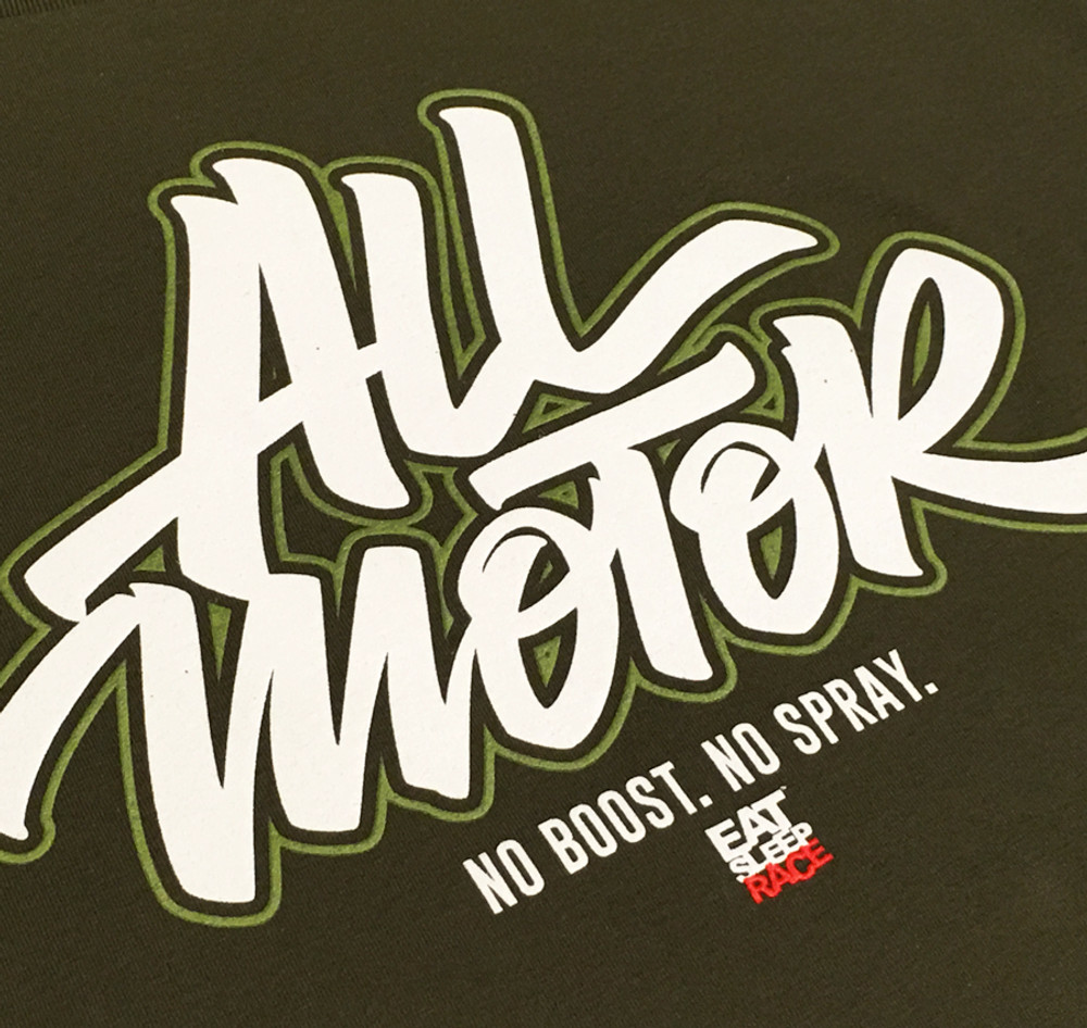 All Motor 5 T-Shirt | Olive