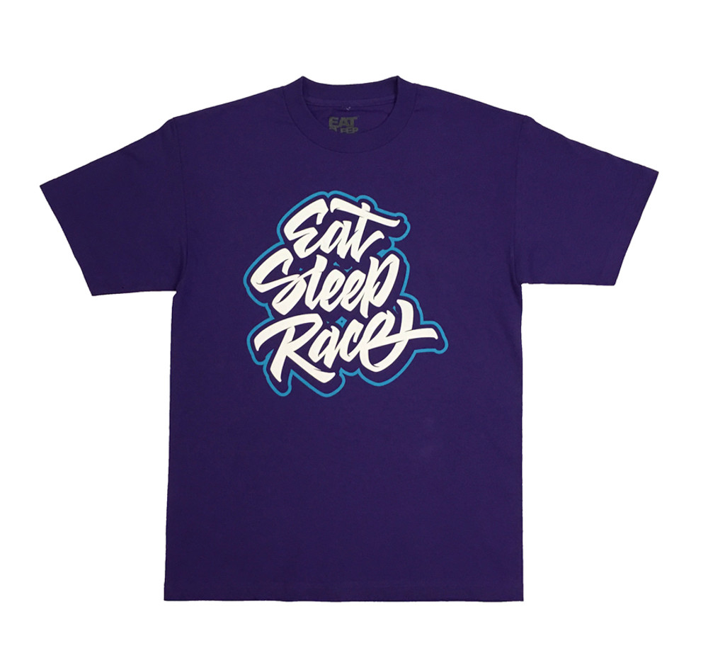 Huge Tag T-Shirt | Purple