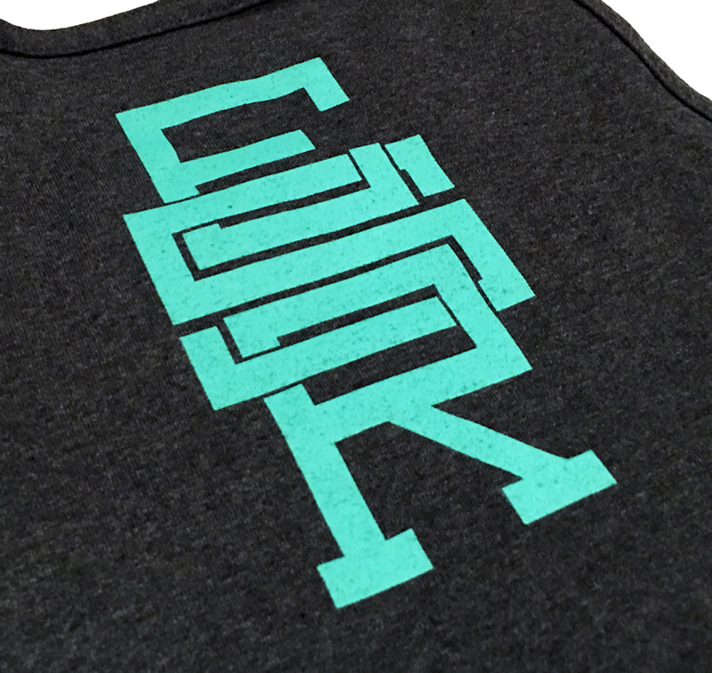 ESR Fast Life Tank Top | Charcoal/Teal