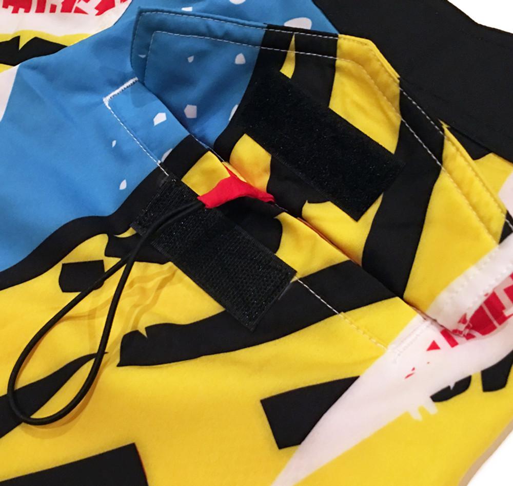 Active Shorts   ESR Rad Pattern Yellow