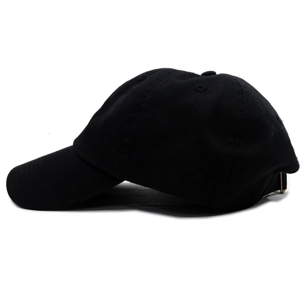 Knuckle Wrench Sport Strapback Hat | Black