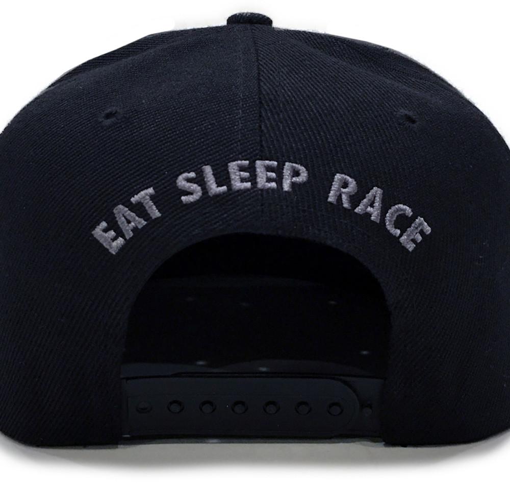 Unbeatable Snapback Hat | Black/Blue