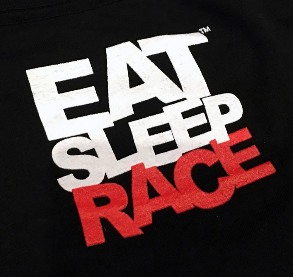 Neverlast T-Shirt   Black/Red
